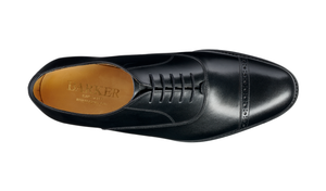 Barker Midhurst Oxford - Black Calf