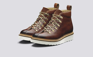 Grenson Bobby Boots - Tan