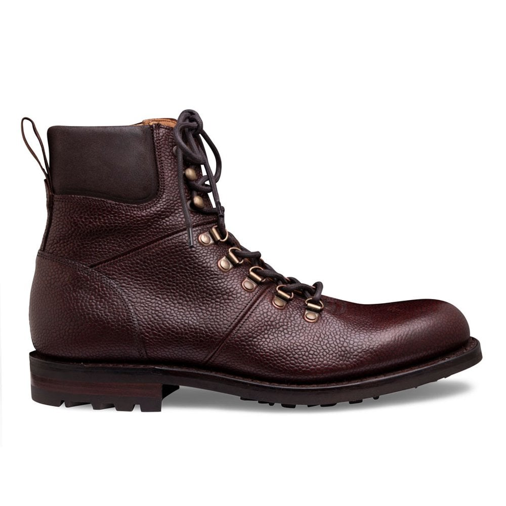 Cheaney Ingleborough Boots - Burgundy Grain