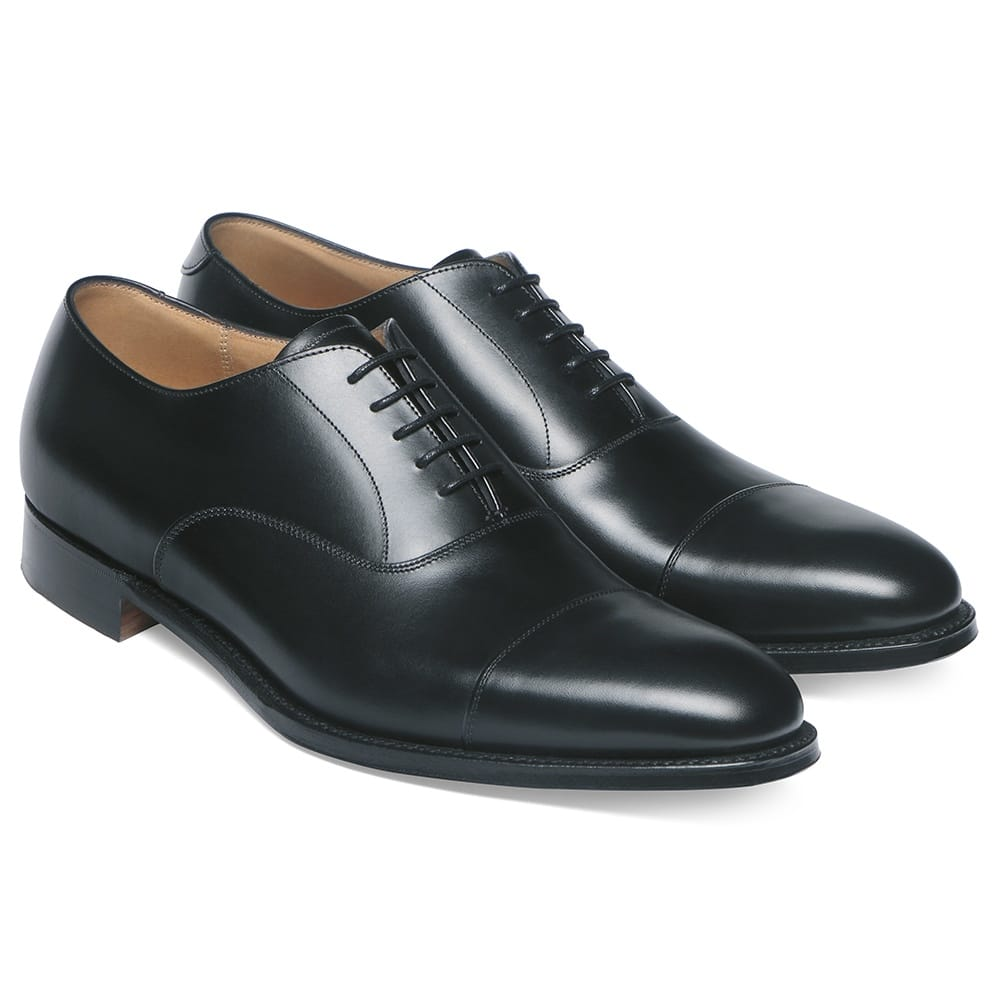 Cheaney Lime Oxford - Black Calf