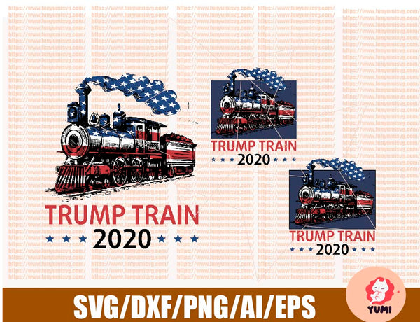 Trump Train 2020 Sublimation Png Digital Download Digital Design C Custom Designs