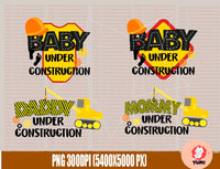 Huge Construction birthday ,bundle svg, under construction ,elements svg, truck bundle, digger truck svg,excavator truck, birthday crew svg