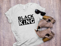 Black King PNG SVG Clipart Clip Art Cut File Design Image for Sublimation Vinyl Shirt Mug Wall Sign Daddy Dad Father Figure