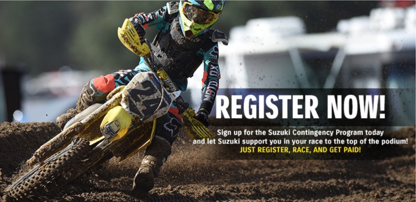 2016 Suzuki Off-Road Contingency Announcement