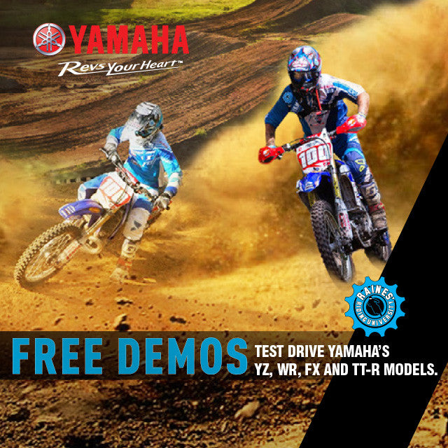 Yamaha Off-Road Demo Day - December 5, 2015