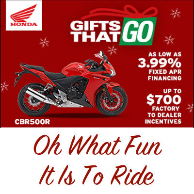 Gifts That Go: Oh What Fun It Is to Ride!