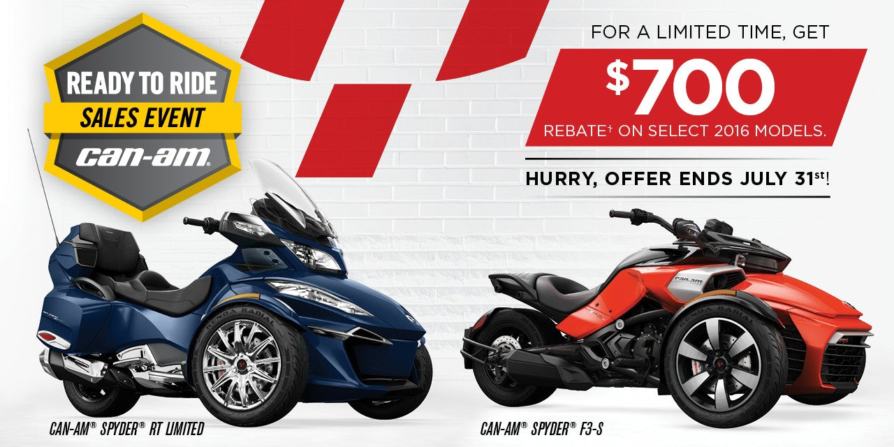 Kissimmee Can-Am Spyder Dealership - Special Offer