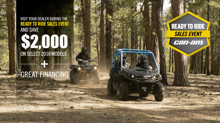 Kissimmee Can-Am ATV UTV SxS Dealership - Up to $2000 Off Sale