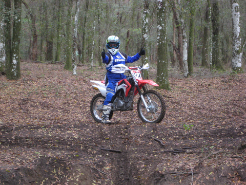 Lynn Blalock - Honda CRF125 at Croom Cycle Park