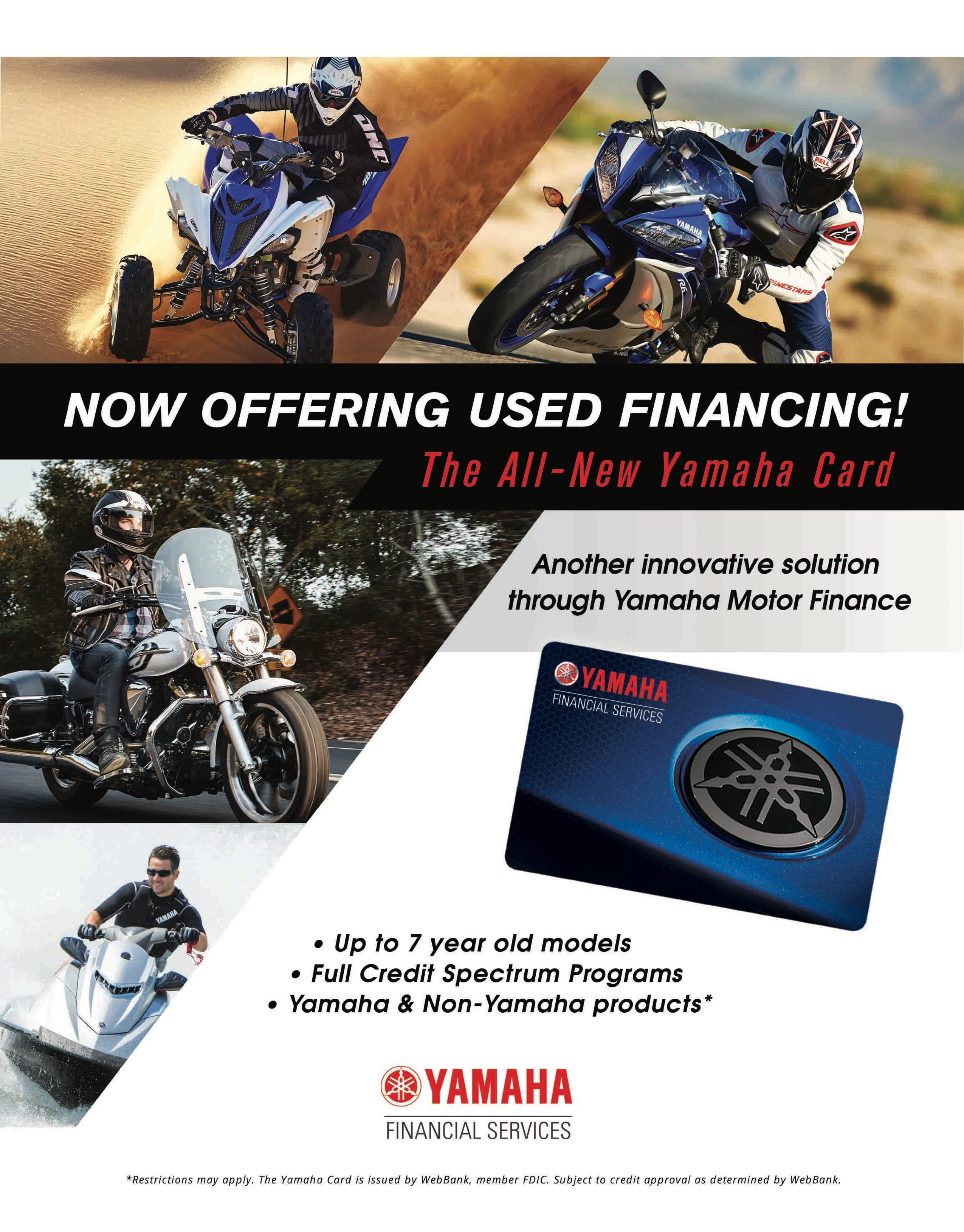 Financing Your USED PowerSports Vehicle - Central Florida