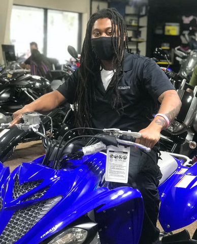 Carlos Brown - Parts Consultant - Central Florida PowerSports