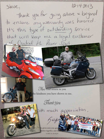 At Central Florida PowerSports, you are family.