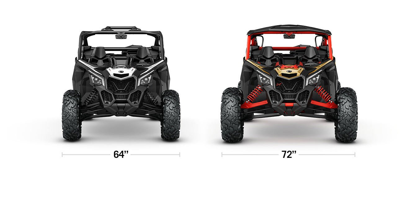 "Industry First Wide 72"" Stance on Can-Am Maverick X3 - Central Florida PowerSports - Kissimmee, Orlando"