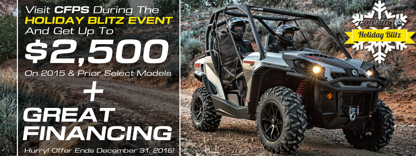 Can-Am OEM Promotion - Kissimmee Can-Am ATV and Side-By-Side Dealer