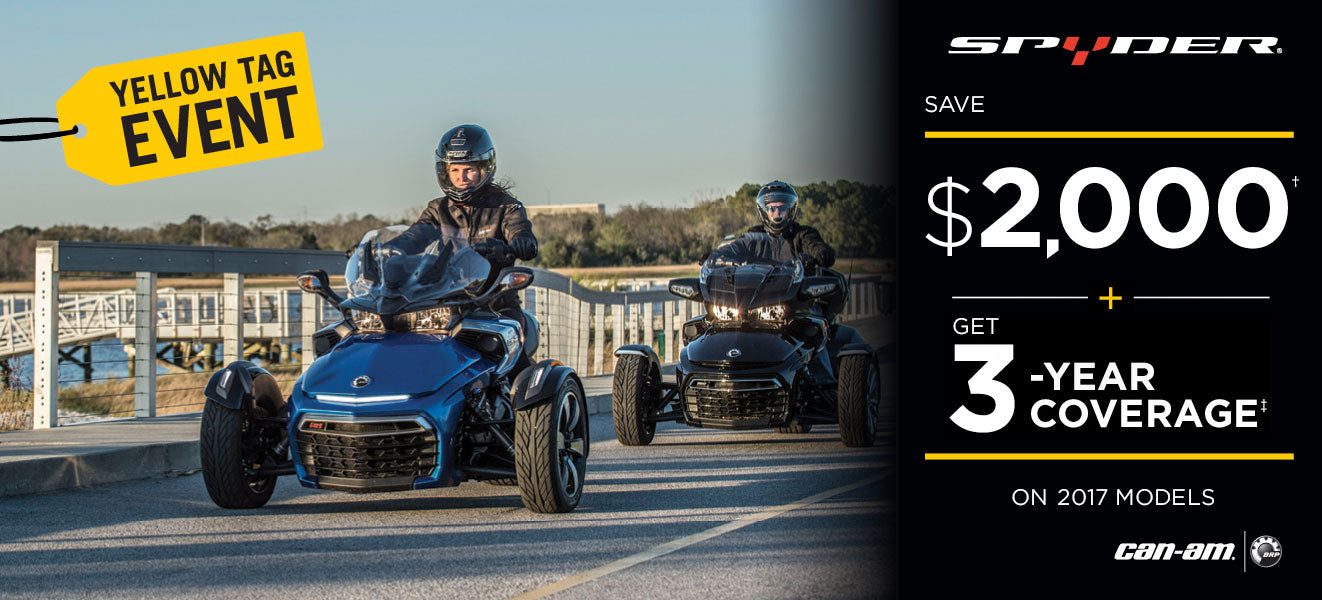 Can-Am Spyder - Lowest Prices - Kissimmee, Orlando, Daytona Beach - Central Florida PowerSports