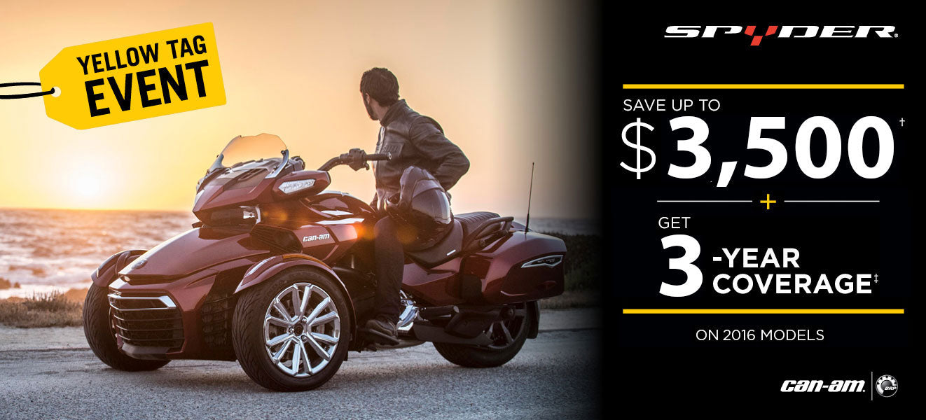 Can-Am Spyder - Kissimmee, Orlando, Daytona Beach - Central Florida PowerSports - Best Prices