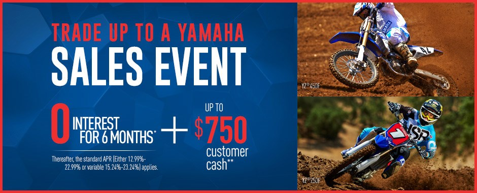 Offer Available On Approved Purchases Of New 2012 2017 Yamaha Motorcycles Scooters ATVs Side X Sides Made The Card Issued By Capital One