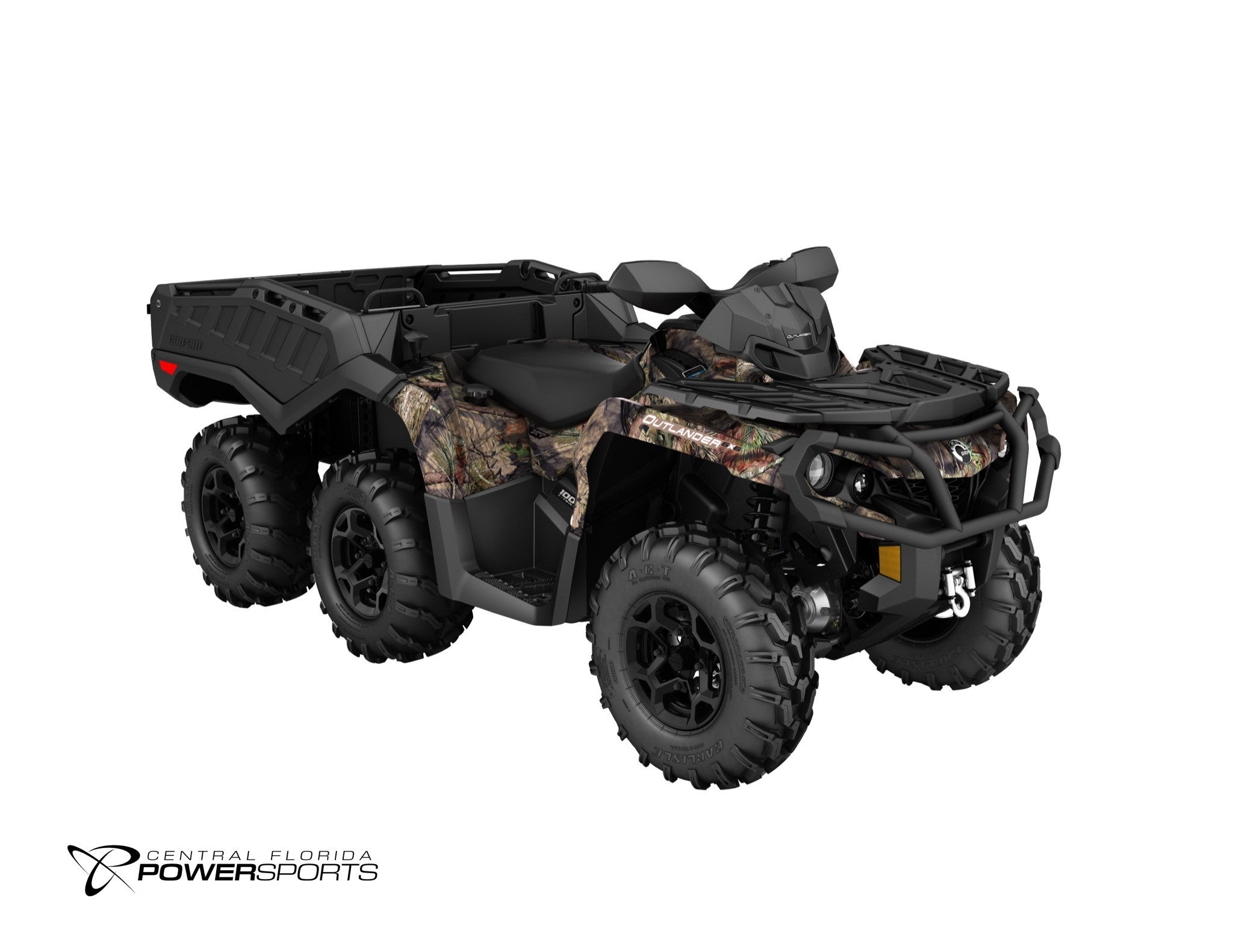 Can Am 1000 >> 2018 Can Am Outlander 6x6 Xt 1000 Central Florida Powersports