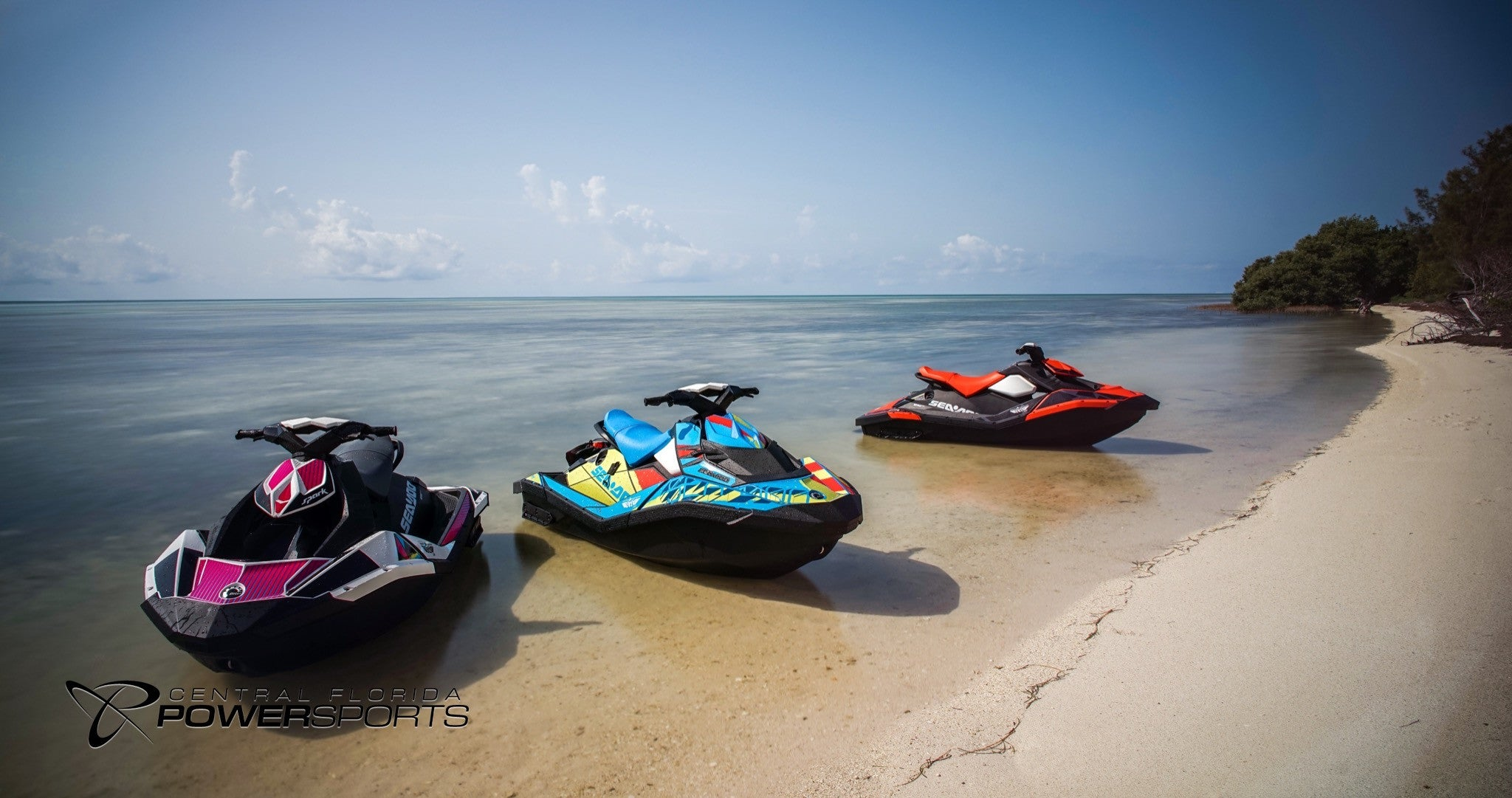 2017 sea doo spark 3 up pwc for sale central florida