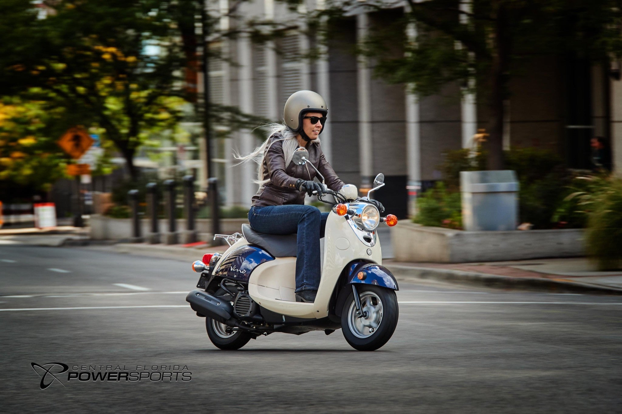 New 2017 Yamaha Vino Classic Scooter For Sale #CFPS - Central ...