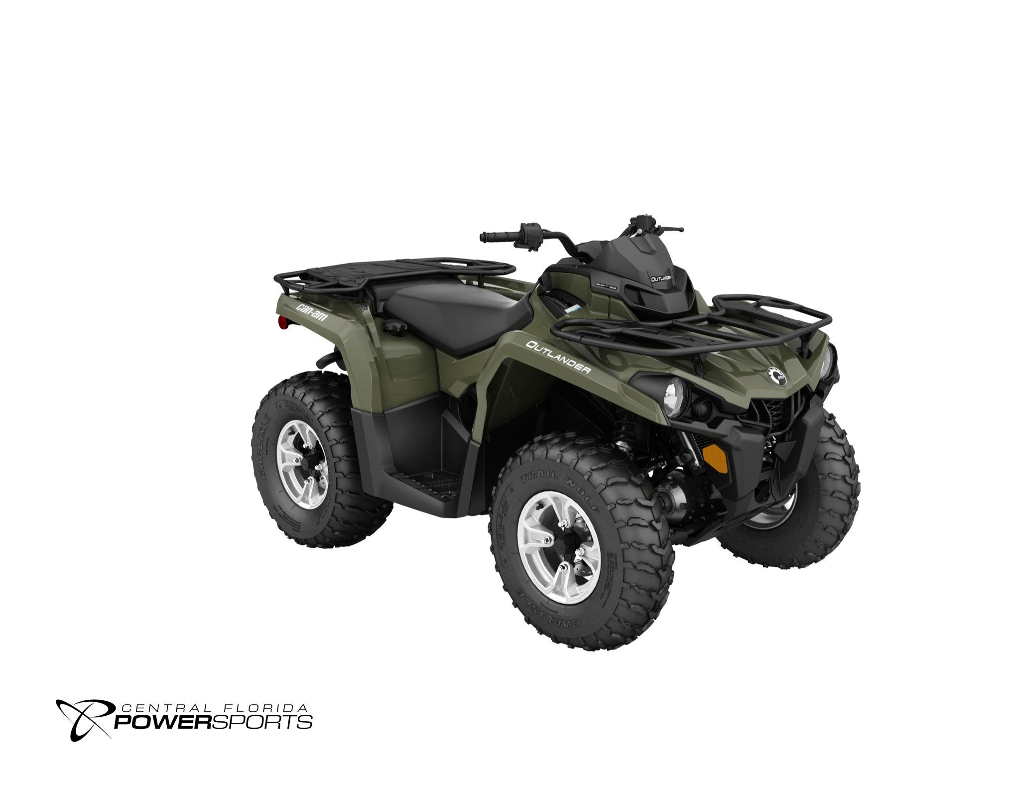2018 canam outlander dps 450 570 central florida powersports. Black Bedroom Furniture Sets. Home Design Ideas
