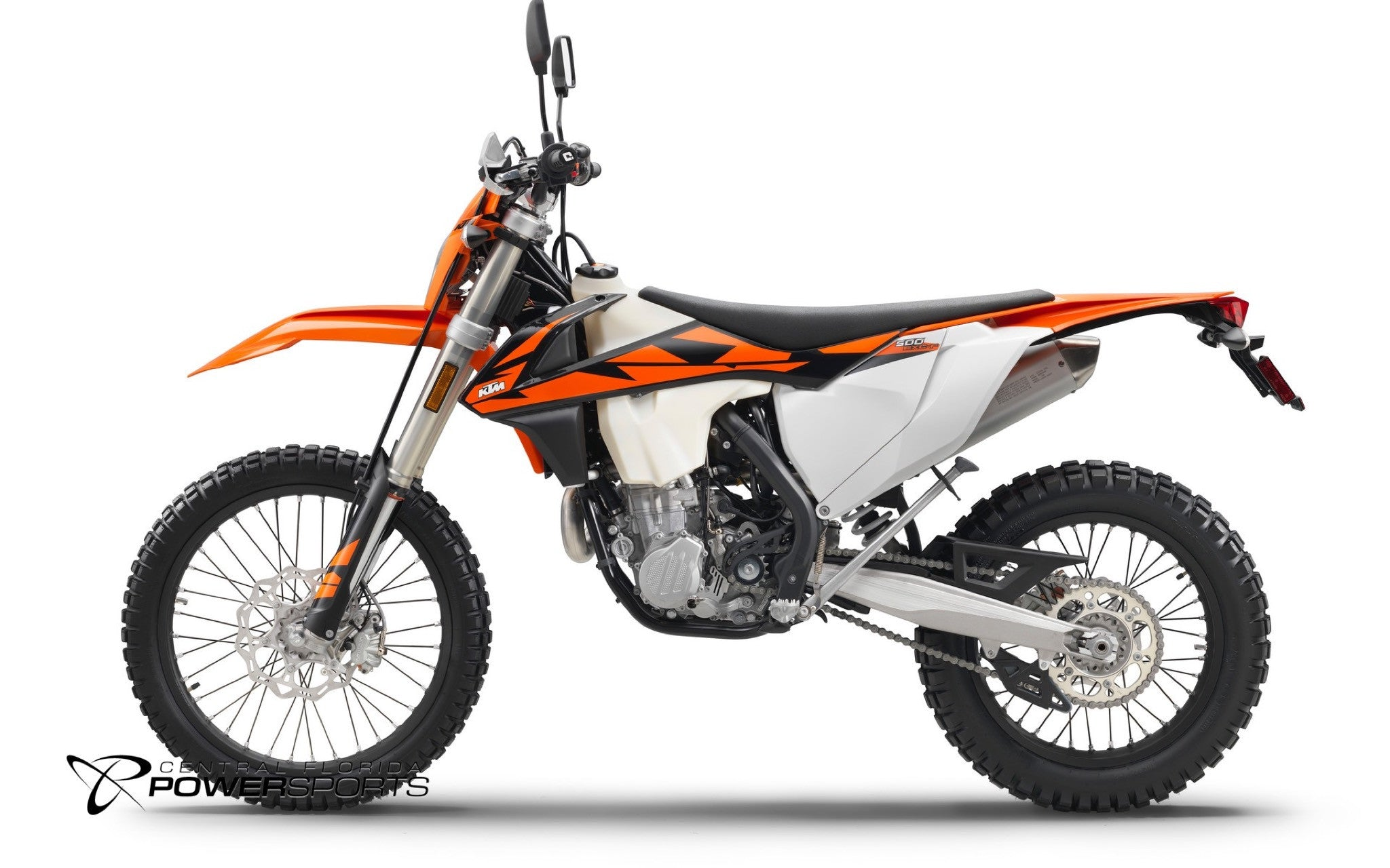 2018 ktm 500 exc f enduro dual sport motorcycle for sale kissimmee central florida powersports. Black Bedroom Furniture Sets. Home Design Ideas