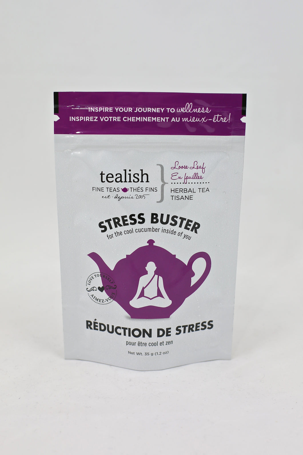Stress Buster Herbal Tea Pouch