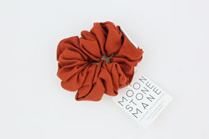 Burnt Red Scrunchie