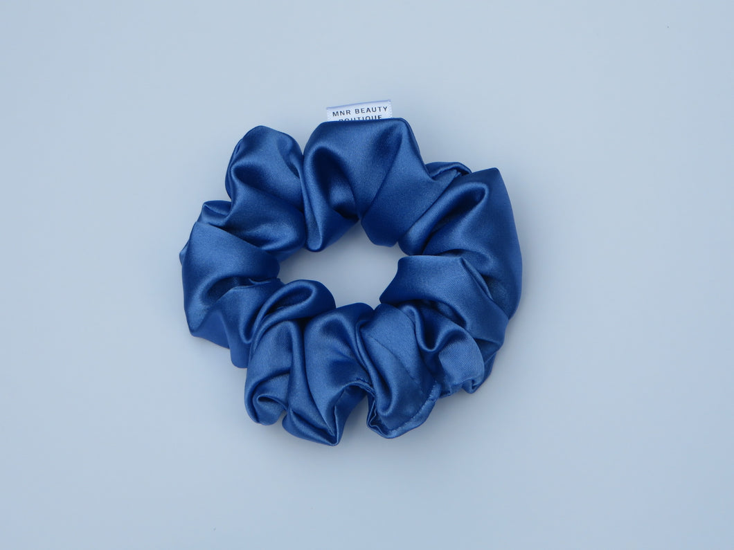 Admiral Satin Scrunchie