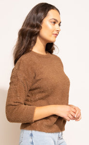 The Billie Sweater Brown
