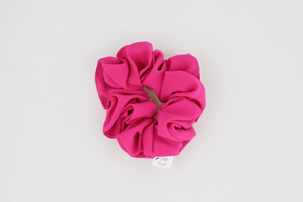 Hot Pink Scrunchie