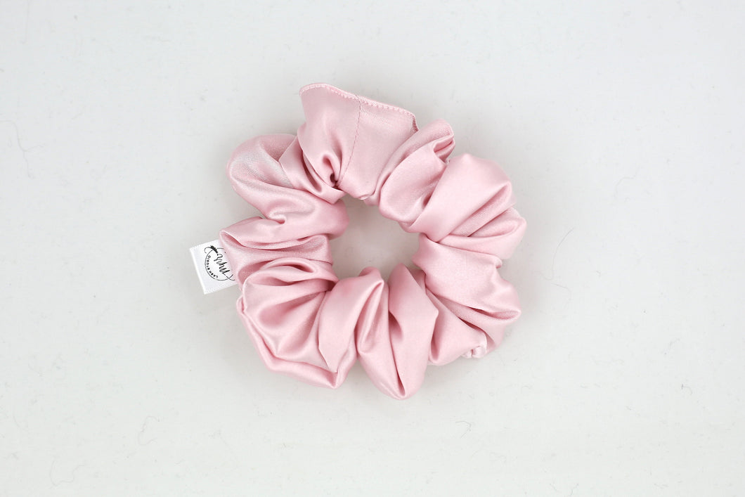 Lemonade Satin Scrunchie