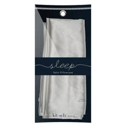Satin Pillowcase - Silver