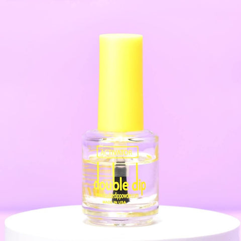 activator works with the base of your dip powder nails