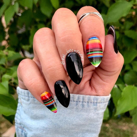 Alma White Instagram: @nail_datewithalma BLK-Black Like My Heart 001-Charlie's Angel