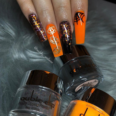 Instagram: @nailsby_andreaa Glitters, Coffin Shape
