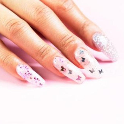 How to do Aesthetic Butterfly Art Manicure
