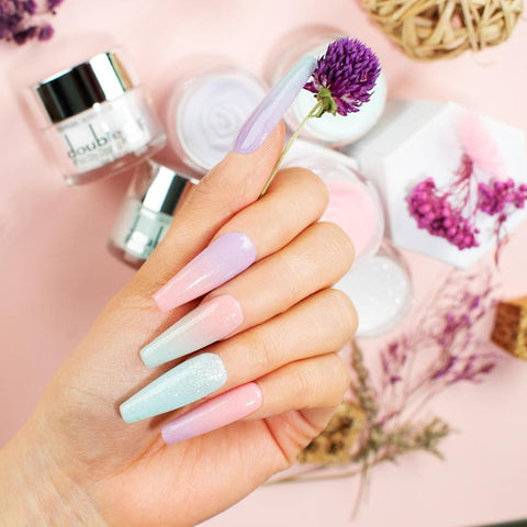 fresh new shade to dip onto your nails
