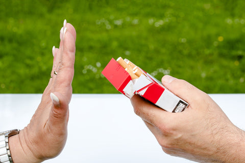 Keep yourself away from the cigarettes
