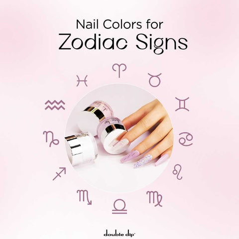 Nail Colors for Zodiac Signs