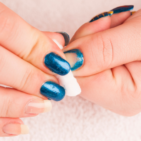 How To Safely Remove a Dip Mani