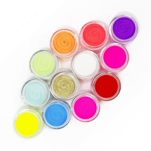 12 Colors Summer Neon Dip Powder Nail Kit for Starters (0.5 oz)