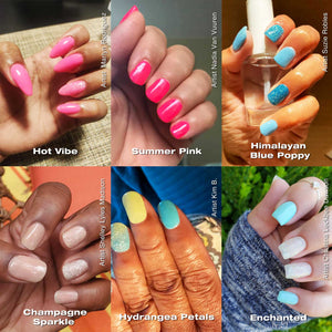 12 Colors Summer Neon Dip Powder Nail Kit for Starters