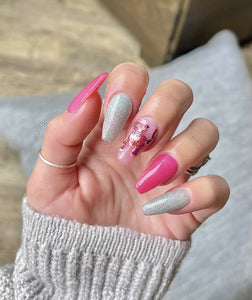 G22 - Pink Panther - Double Dip Nails