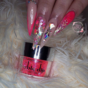 LG007 - Hot Girl - Double Dip Nails