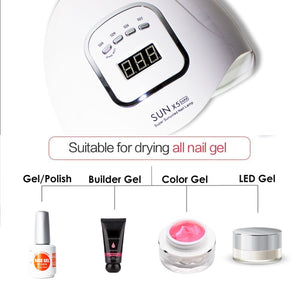 Professional GEL Nail UV Lamp SUN X5 MAX 150W - Double Dip Nails