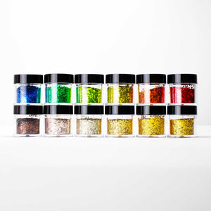 S1202-S1705-22 12 PCS Mix Loose Glitter Set #22 - Double Dip Nails