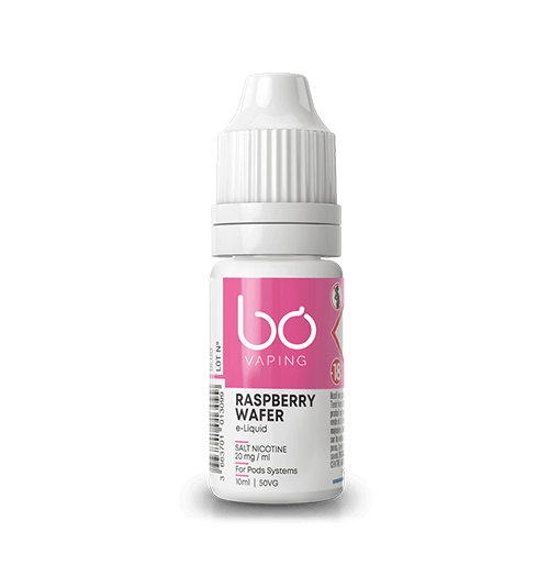 Raspberry Wafer by BO (Salt Nicotine)