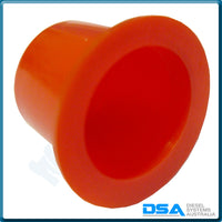 "1 203 235K Tapered Plastic Cap (12mm ""A"" Red) {PKT-100}"