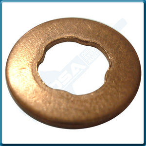 52300-01 Aftermarket Copper Injector Base Washer (15x7.5x1mm) {PKT-10}